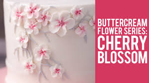 cherry blossom flowers how to make buttercream cherry blossom flowers