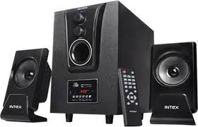 Used Home Theatre Systems Bangalore Intex It2425 2 1 2 Speakers Price In India Buy Intex It2425 2 1