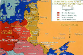 Map Eastern Europe Map Of Europe 1939 With Cities Thefreebiedepot