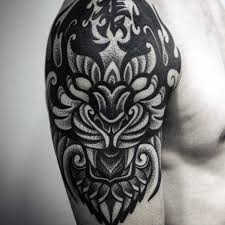 40 tribal tiger designs for big cat ink ideas