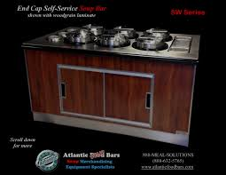 Isw Blog September 2015 by Atlantic Food Bars Soup Bar With Induction Warming Wells The