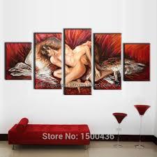 wall decor art canvas home decor canvas 5 panel wall art painting