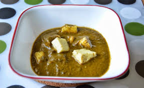 Low Calorie Cottage Cheese by Palak Paneer Creamy Low Calorie Version Cottage Cheese In