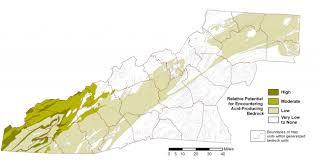 Blue Ridge Mountains Map Rock Types Western North Carolina Vitality Index