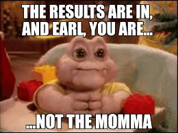 Baby Sinclair Meme - if maury was on dinosaurs and also was baby sinclair imgur