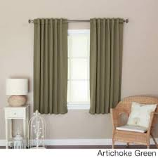 Brown Blackout Curtains Green Blackout Curtains Drapes For Less Overstock