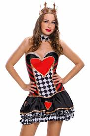 online get cheap queen hearts women costume halloween aliexpress