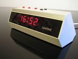 Futuristic Clock Lumitime Kt 277 Vintage Digital Clock Jo Je Bin Flickr