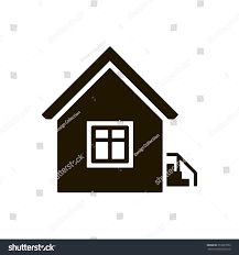House Flat Design by Home Icon Vector Illustration Flat Design Stock Vector 353937293