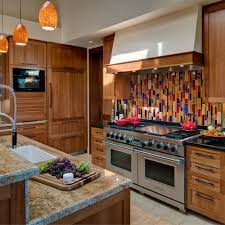 Red Mosaic Tile Backsplash by Red Mosaic Tile Houzz