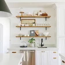Shelf Over Kitchen Sink by Stacked Shelves Over Kitchen Prep Sink Transitional Kitchen