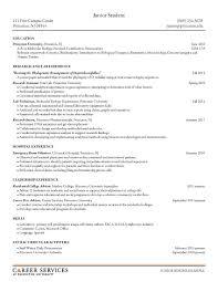 student curriculum vitae pdf exles cv resume college student therpgmovie