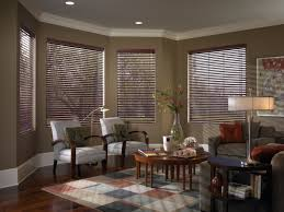 faux wood blinds look just like real wood windowtreatments