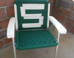 Vintage Aluminum Folding Chairs Kids Lawn Chair Etsy
