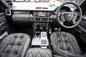 white land rover interior kahn range rover review page 2 autoevolution