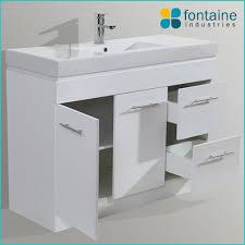 Free Standing Vanity Units Bathroom 1200 Freestanding Vanity Unit Fontaine Industries