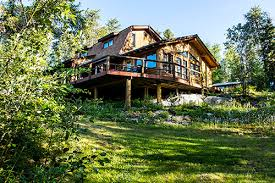 forest house house wilderness lodge