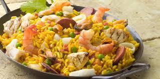 paëlla fruits de mer chorizo et poulet de patou facile recette