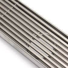 6 Floor Drain by 800mm Stainless Steel Heelguard Linear Shower Grate Bathroom Floor