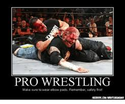 Pro Wrestling Memes - pro wrestling make sure to wear elbow pads remember safety first