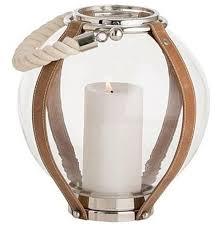 serasa coastal beach round glass candle lantern 11