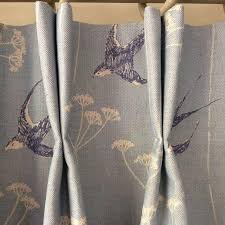 beautiful designer linen for this elegant country kitchen
