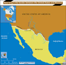 map us mexico border states how is the border between the united states and mexico answers