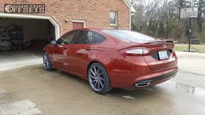 rims for 2014 ford fusion wheel offset 2014 ford fusion flush lowering springs