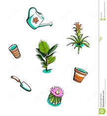indoor garden clipart collection