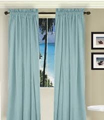 Pale Blue Curtains Light Blue Curtains Solid Light Ba Blue Colored Window