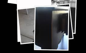 How To Paint Furniture Black by Black Furniture Painting Tutorial Youtube