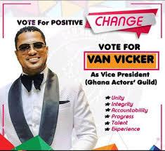 ghanaian actor van vicker popular ghanaian actor van vicker contesting for vp ghana actors