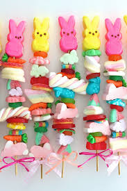 easter bunny candy easter candy kabobs the bakermama