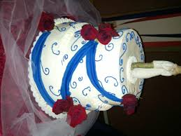 red white and blue wedding cakes ideal weddings