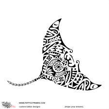 tattoo of hahalua manta ray tattoo custom tattoo designs on