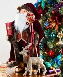 Macy S Christmas Decorations Holiday Lane Brushed Gold Tone Reindeer Stocking Holder Created