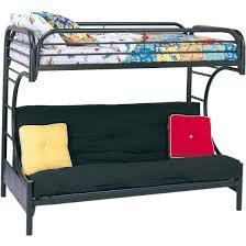 Bunk Bed With Futon On Bottom Eclipse Futon Metal Bunk Bed Colors Walmart