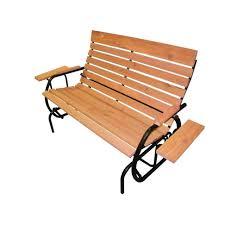 Lifetime Glider Bench Outdoor Glider Bench Benches Outdoor Glider Bench With Canopy