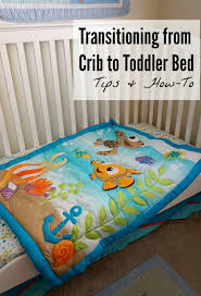 Transitioning Toddler From Crib To Bed Transitioning To A Toddler Bed With Disney Baby Shaping Up To Be