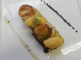 cours de cuisine gastronomique scallops and crayfish quenels with truffles picture of cours de