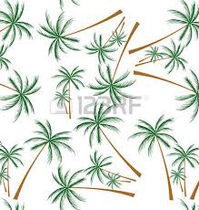 drawing the coconut trees the beautiful designs royalty free