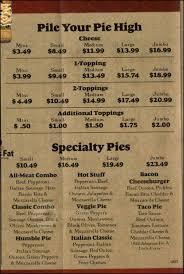 Round Table Pizza Menu Prices by Godfathers Menu Sur La Table Coupon