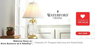 waterford crystal table l finn l ivory floor l ls original deluxe natural spectrum l