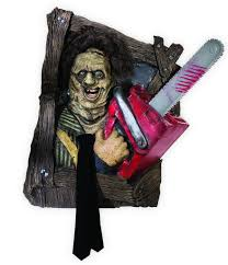 leatherface costume chainsaw leatherface wallbreaker decoration