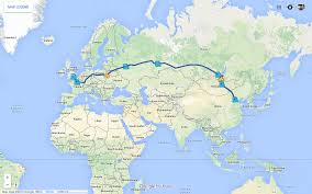 Eurostar Route Map by Ultimate Guide To Planning The Trans Siberian Adventure Trans