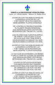 guia de la universidad veracruzana 2017 himno a la universidad veracruzana sistema de enseñanza abierta