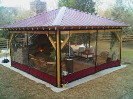 Gazebo Curtains Insect Screens Yardistry Gazebo Curtains