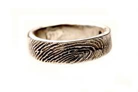 fingerprint wedding band julie chen wedding ring tags fingerprint wedding ring wedding