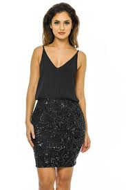 sequin skirt ax womens 2 in 1 sequin skirt mini dress bodycon