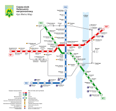 Budapest Metro Map by Public Transport Kyiv Ukraine